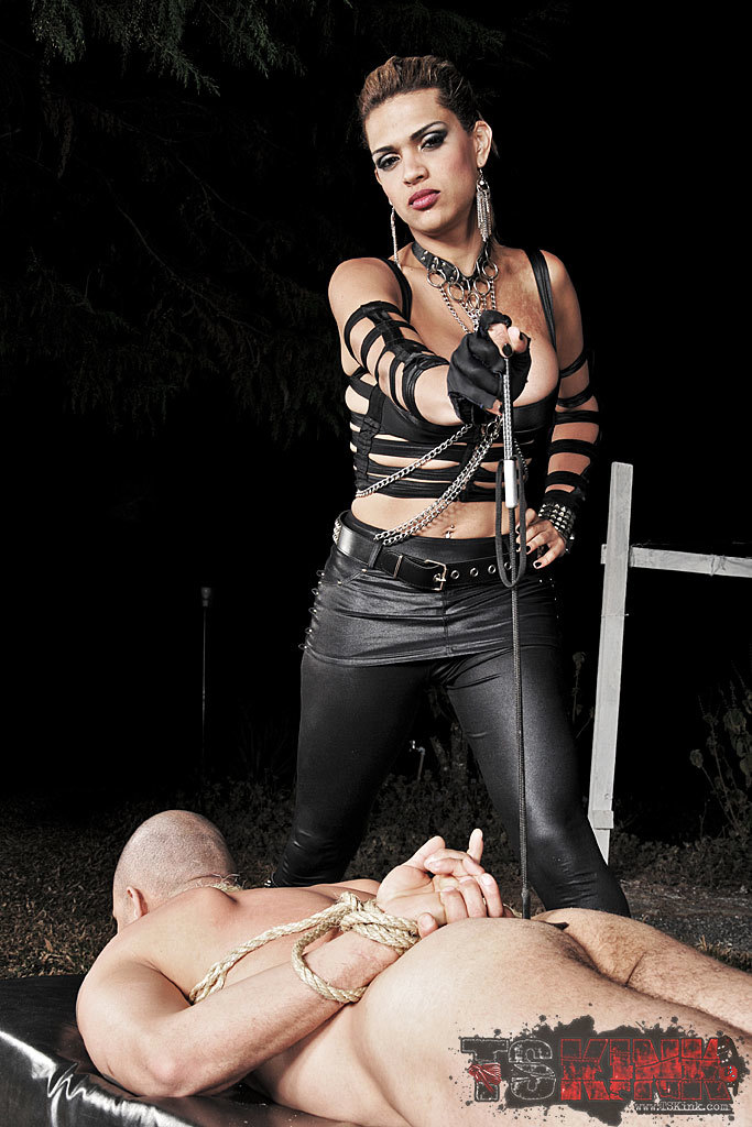 Femboy Domme Feeds This Man Penis