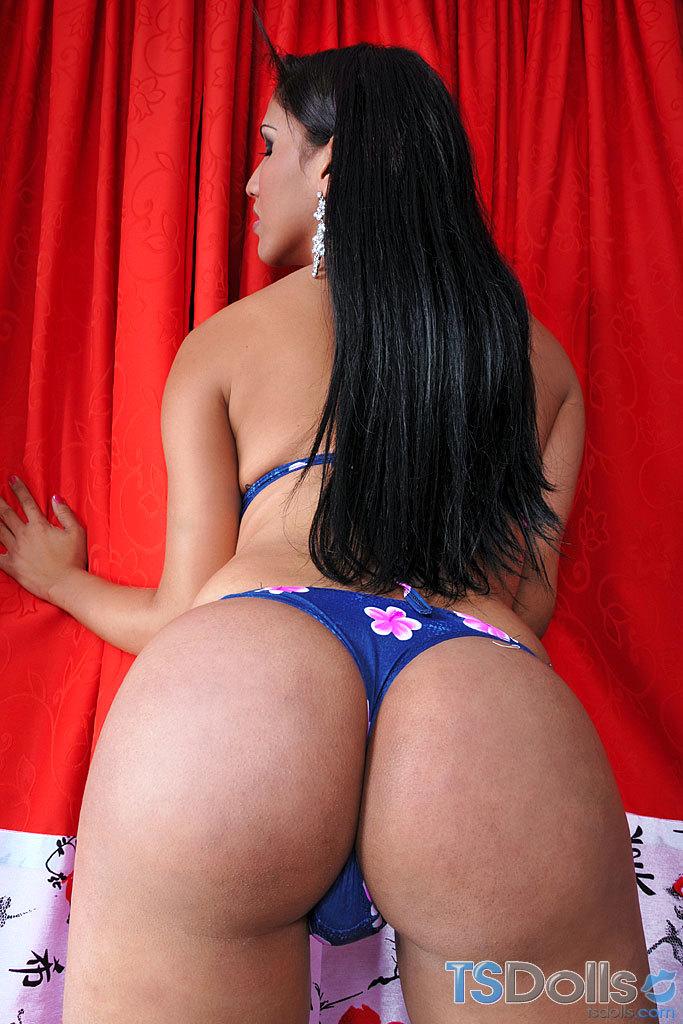 Gorgeous Brazilian Ts Solo Striptease