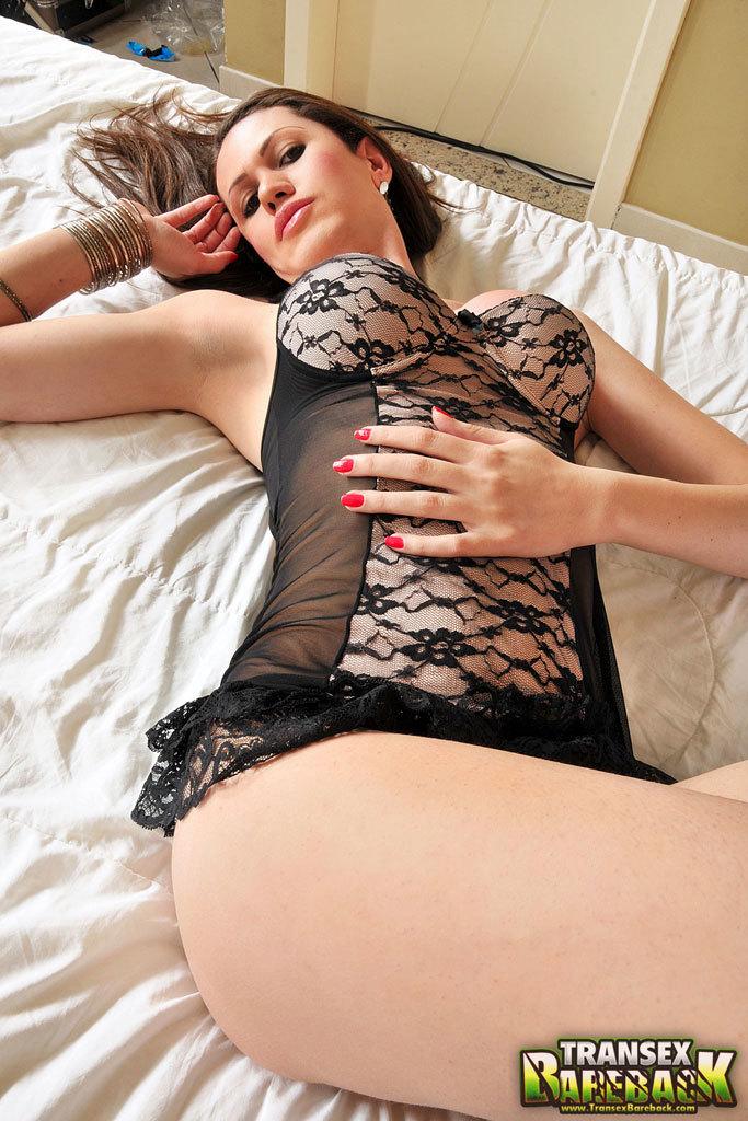 Provocative Latina Femboy Bare Back Sex Both Ways