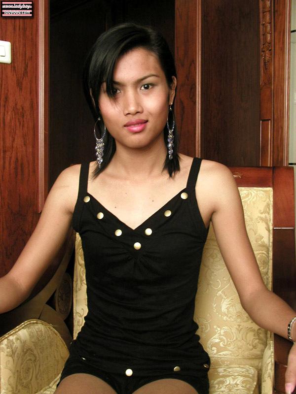 Shy, Cute, Tattooed Transexual From Laos.