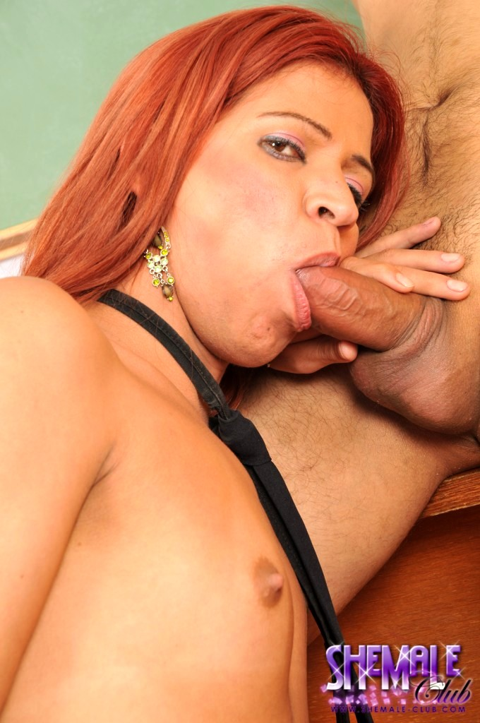 Voluptuous TS Paola Having Sex With Bruno In The Classroom